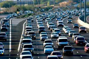 Thanksgiving day traffic