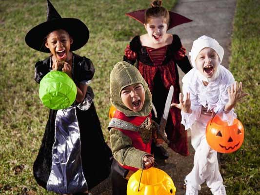 Halloween safety for children